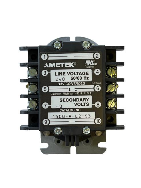 1500-B-L2-S1-N4-X | Ametek Control Relay