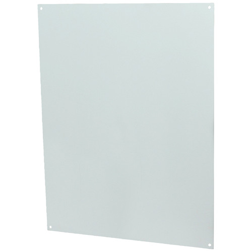 P206   20 x 16 White Painted Carbon Steel Back Panel
