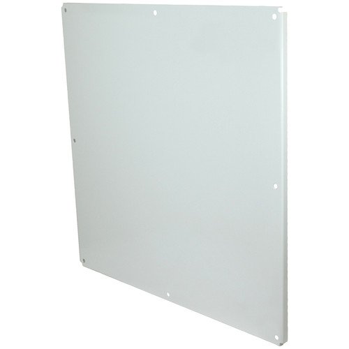 P3636CS  | 36 x 36 White painted carbon steel back panel