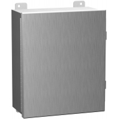 1414N4PHS16L6 | Hammond Manufacturing  12 x 12 x 6 Hinged Enclosure With Panel