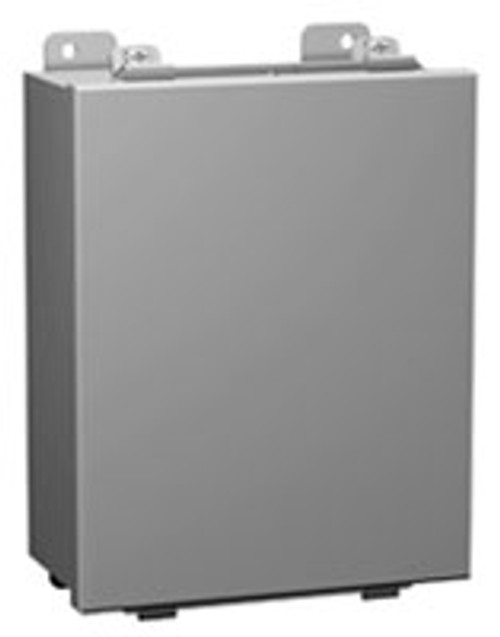 1414O6 | Hammond Manufacturing 16 x 14 x 6 Steel Enclosure with Lift-Off Cover and Clamps