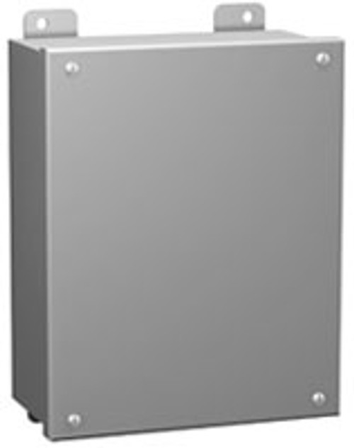 1414SCC | Hammond Manufacturing 6 x 4 x 3 Steel Enclosure with Lift-Off Cover and Screws