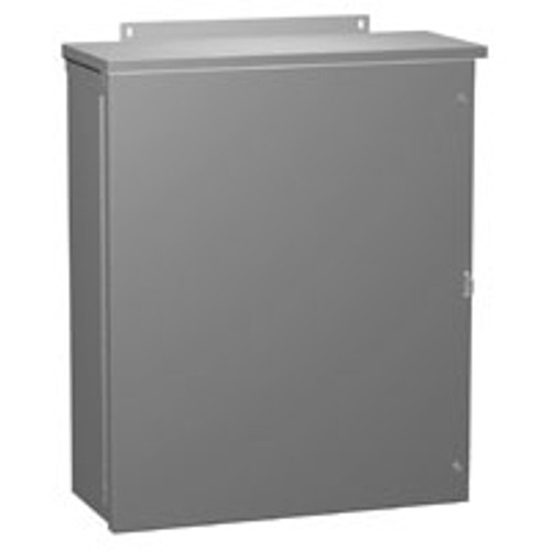 C3R363612HCR | Hammond Manufacturing 36 x 36 x 12 NEMA 3R Hinged Cover Enclosure without Knockouts
