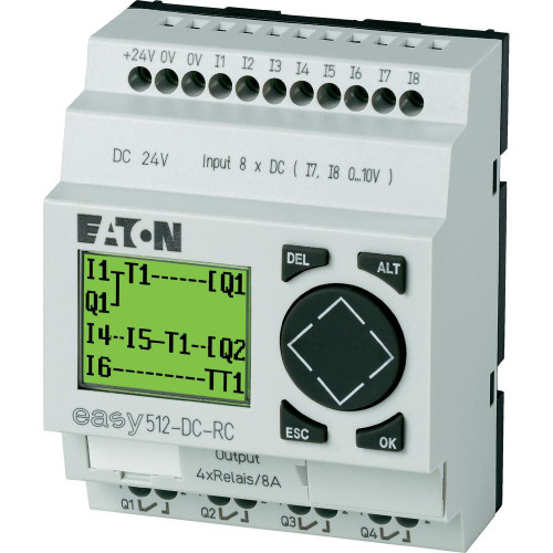 EASY512-DC-RC   Programmable Relay