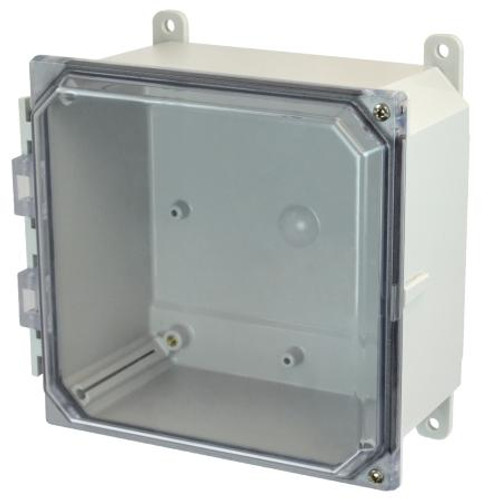 AMP884CCH - Allied Moulded JIC Size Junction Box (Hinged Screw Cover)