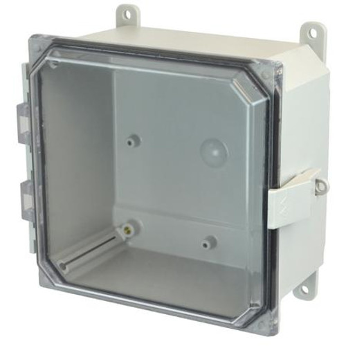 AMP884CCNL - Allied Moulded JIC Size Junction Box (Nonmetallic Snap Latch Hinged Cover)