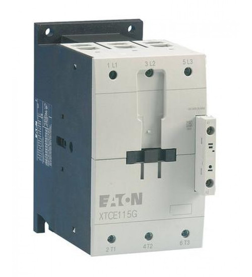 XTCE170G00C   FVNR 3-Pole Contactor (170A, 480-500V 50/60Hz)