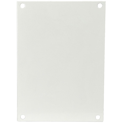 P164   Allied Moulded Products White Painted Carbon Steel Back Panel (For 16 x 14 Enclosures)