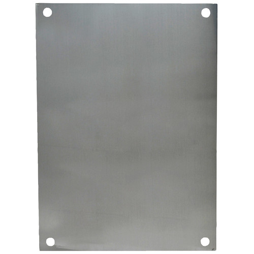 PA186 | Allied Moulded Products Aluminum Back Panel (For 18 x 16 Enclosures)