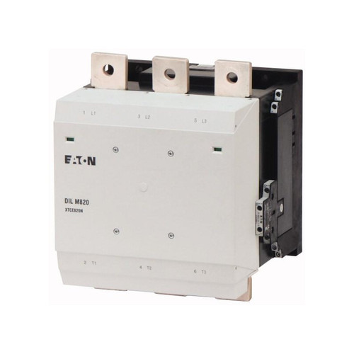 XTCE820N22C | FVNR 3-Pole Contactor (820A, 250-500V 40-60Hz)
