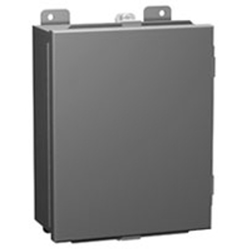 1414N4PHL6 | Hammond Manufacturing 12 x 12 x 6 Clamped Hinged Cover