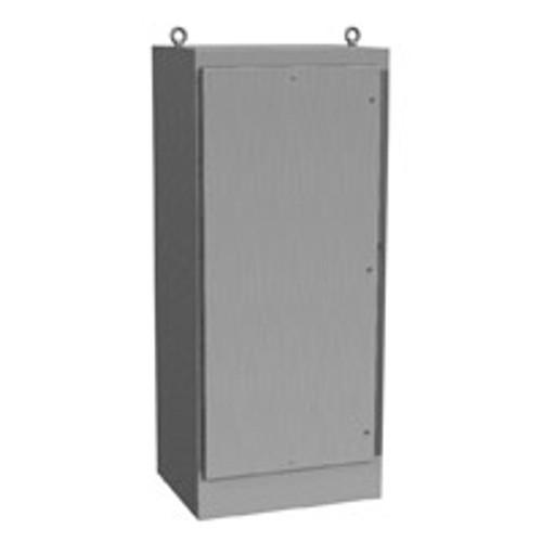 1418N4SSY24QT | Hammond Manufacturing 72 x 37 x 24 Freestanding Enclosure
