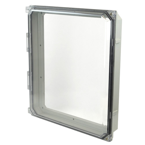 AMHMI142CCH | 14 x 12 HMI Cover Kit with 2-screw hinged clear cover
