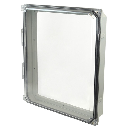 AMHMI142CCHTP | 14 x 12 HMI Cover Kit with 2-screw (tamper-proof) hinged clear cover