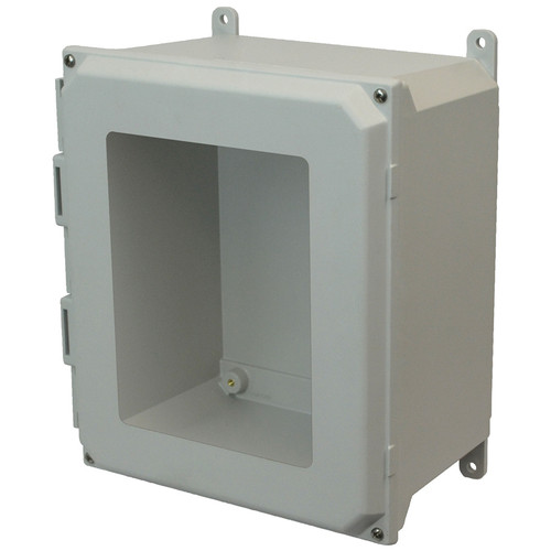 AMU1206W | Allied Moulded Products 12 x 10 x 6  Lift-Off 4-Screw Window Cover