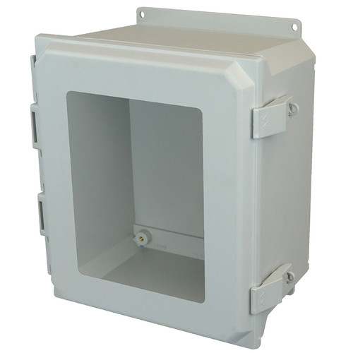 AMU1426NLWF | Allied Moulded Products 14 x 12 x 6  Nonmetal Snap Latch Hinged Window Cover