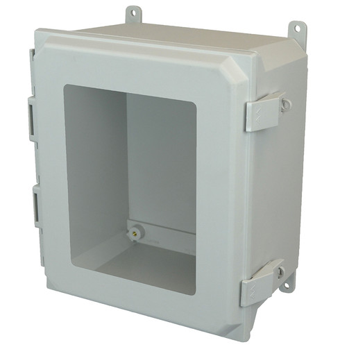 AMU1860NLW | Allied Moulded Products 18 x 16 x 10 Nonmetal Snap Latch Hinged Window Cover