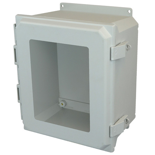 AMU1860NLWF | Allied Moulded Products 18 x 16 x 10 Nonmetal Snap Latch Hinged Window Cover