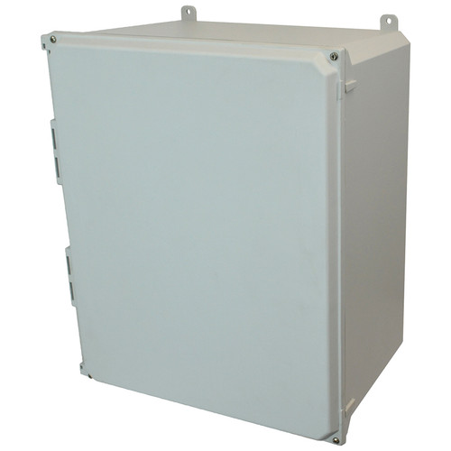 AMU2060 | Allied Moulded Products 20 x 16 x 10  Lift-Off 4-Screw Solid/Opaque Cover