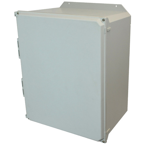 AMU2060F | Allied Moulded Products 20 x 16 x 10 Lift-Off 4-Screw Solid/Opaque Cover