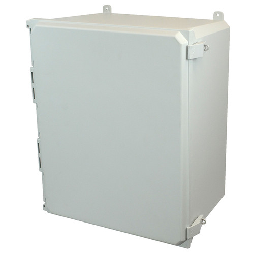 AMU2060NL | Allied Moulded Products 20 x 16 x 10  Nonmetal Snap Latch Hinged Solid/Opaque Cover
