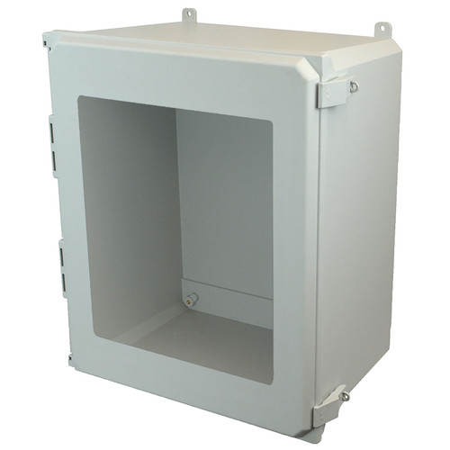 AMU2060NLW | Allied Moulded Products 20 x 16 x 10 Nonmetal Snap Latch Hinged Window Cover