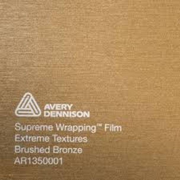 Avery Dennison Textured Brushed Bronze AR1350001 (152x100cm)