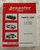 Parts Manual, 1967-71 Jeepster Commando