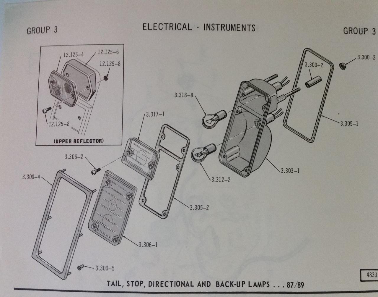 Rear reflector mount kit