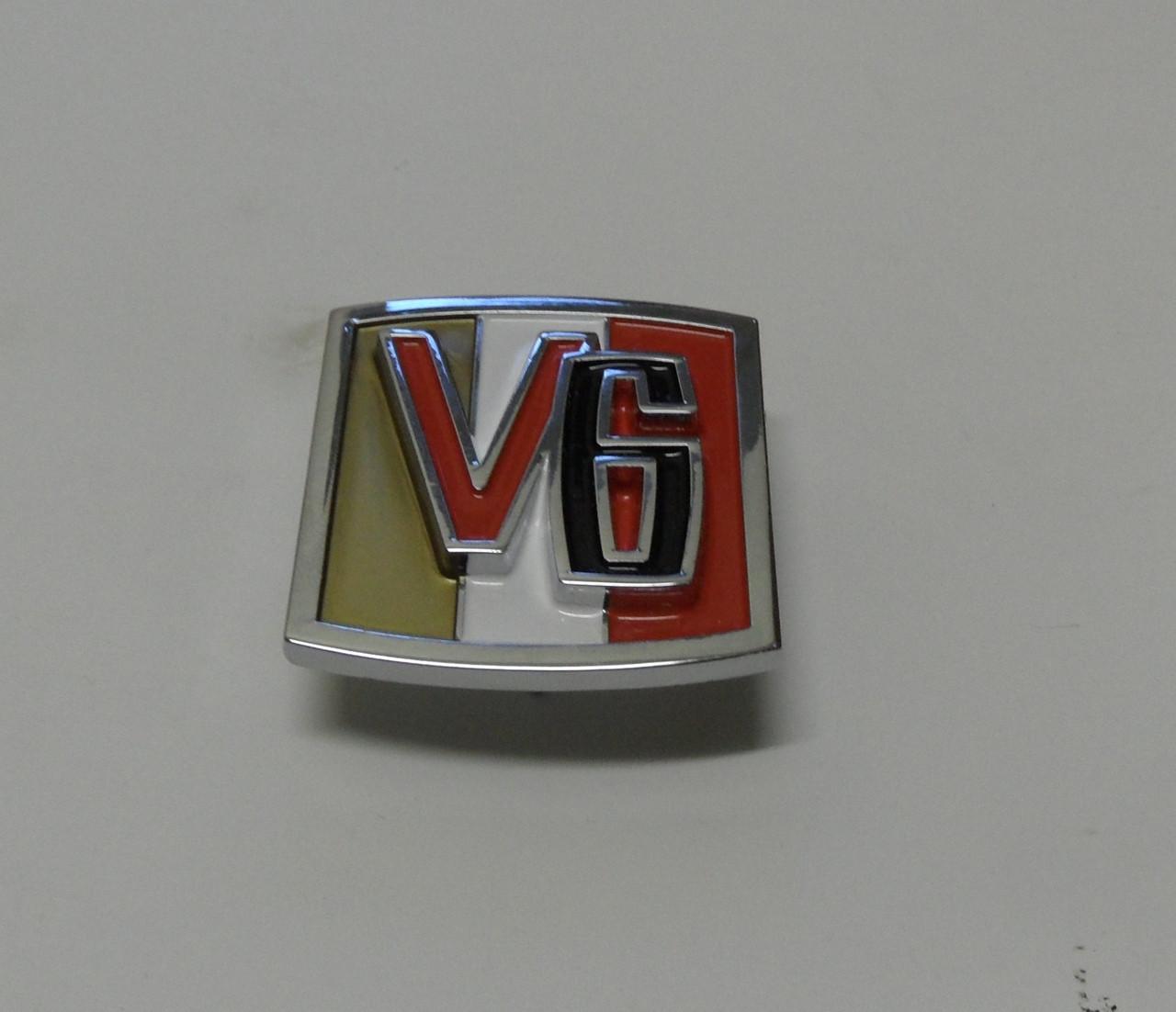 Emblem V6 with hardware
