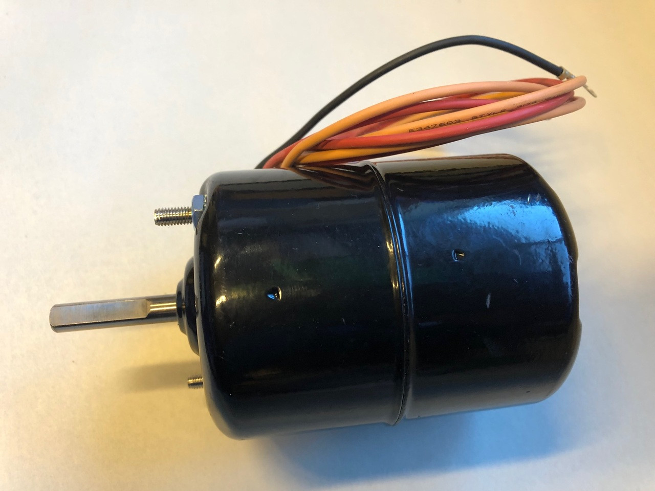Blower Motor, 2 Speed