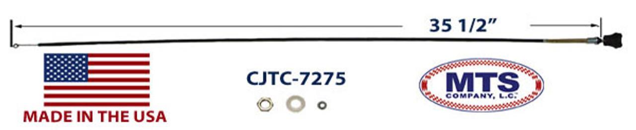 Temperature control cable, 1972-75 CJ