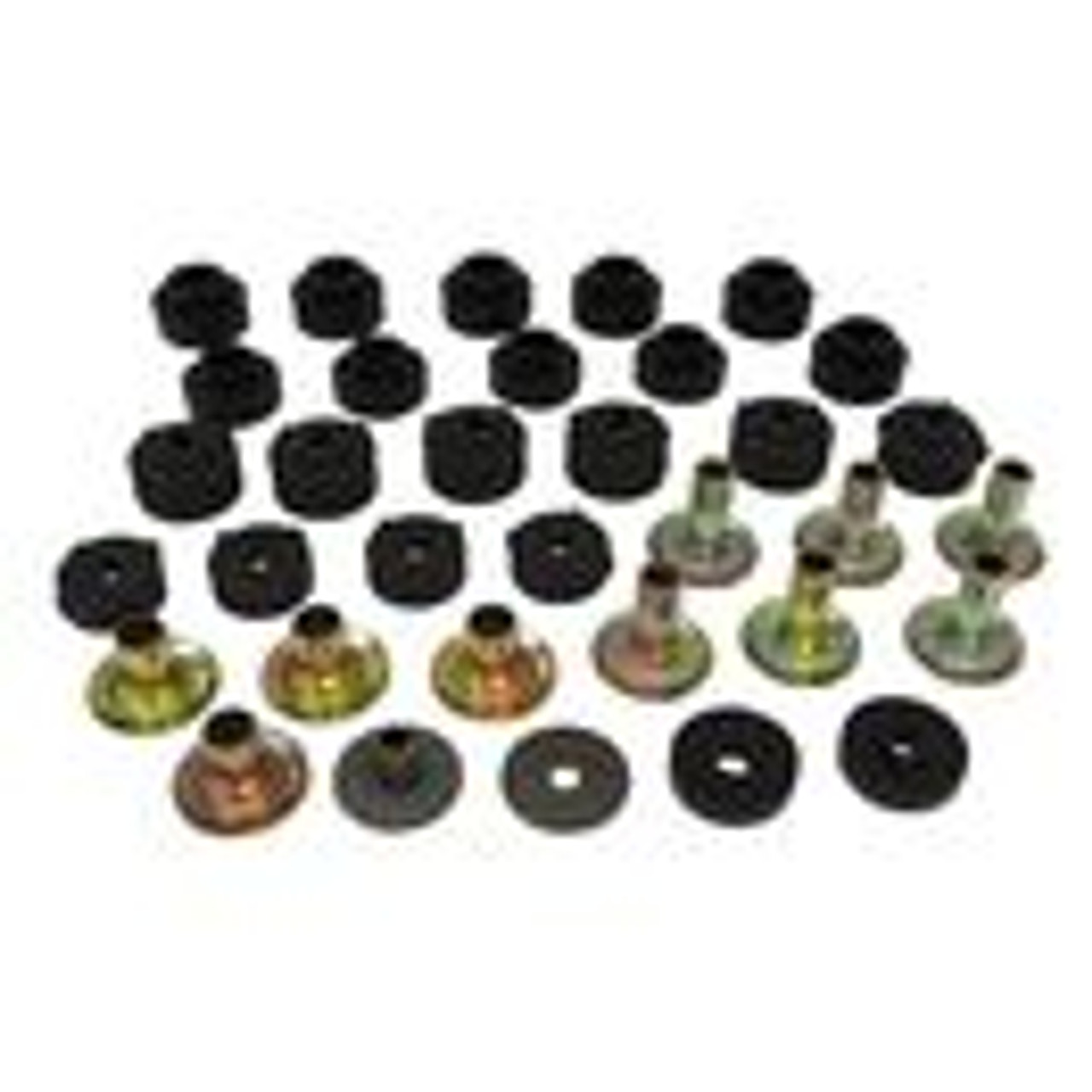 Body mount bushings, 1987-95 YJ