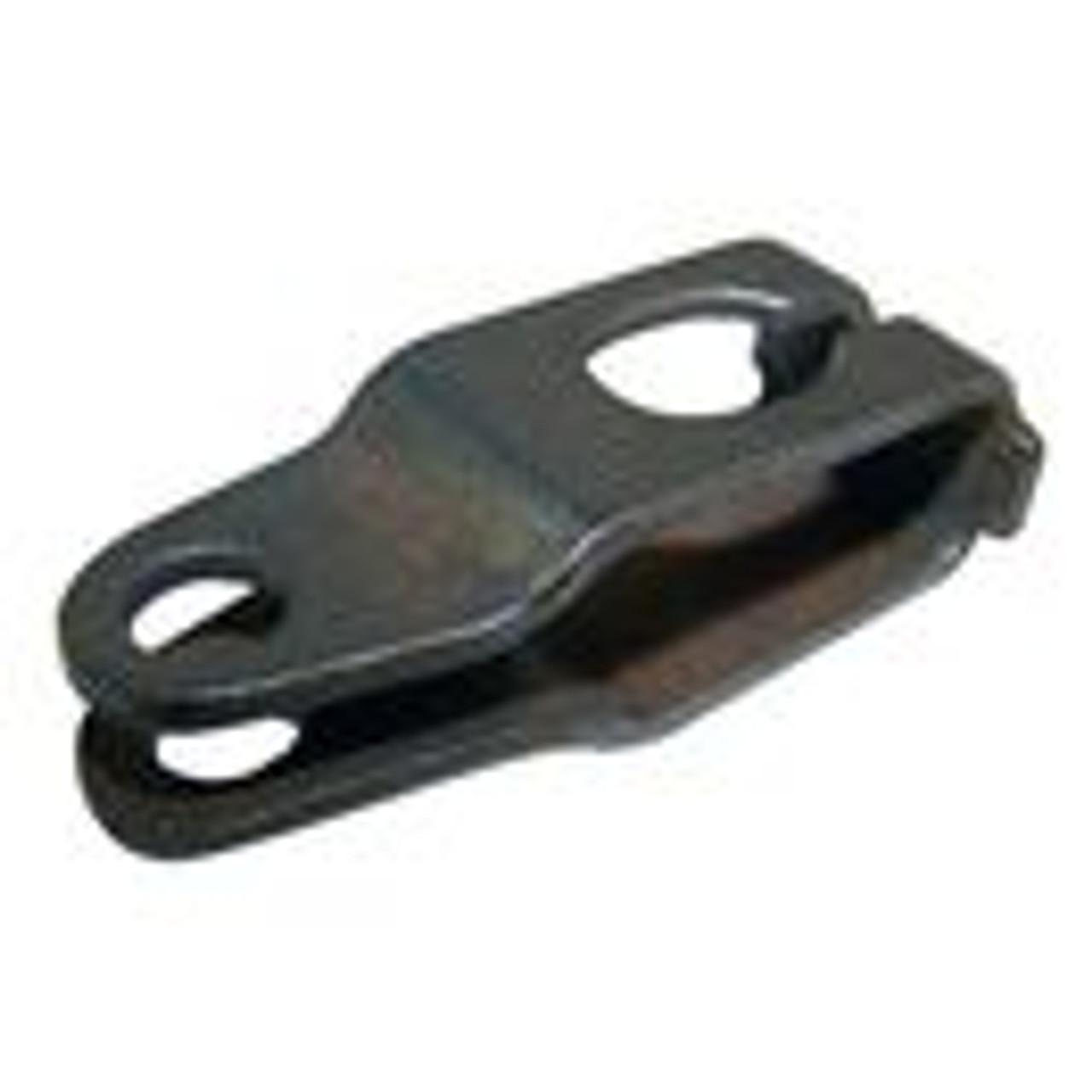 Clutch pedal cable clevis