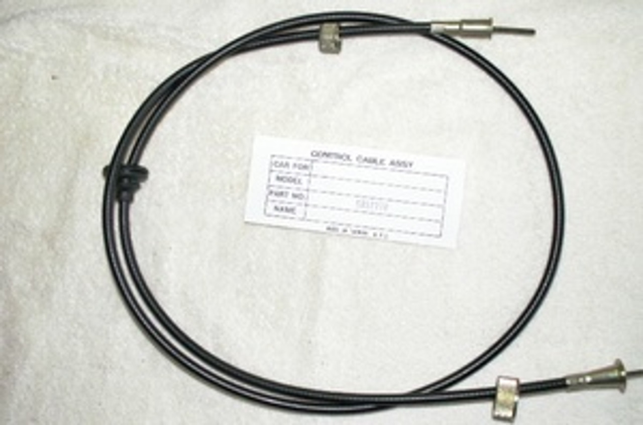 Speedometer cable, automatic