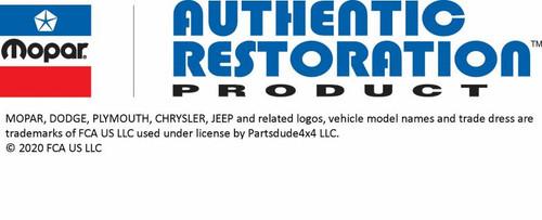 Jeepster Emblem Master Kit Black