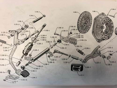 Clutch Pivot Kit