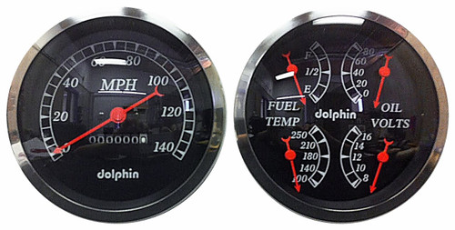 Here is what the black gauges look like