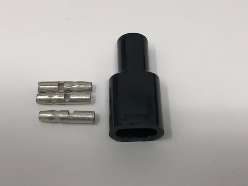 2 into 1 electrical connector with bullet connectors