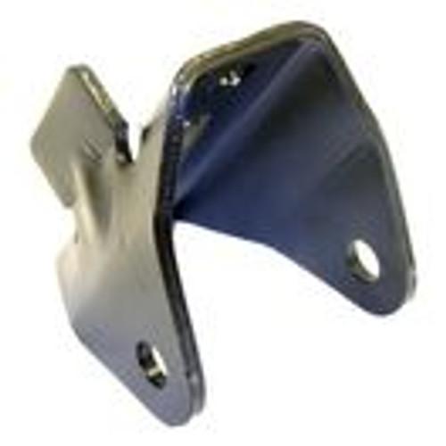 Leaf spring hanger, pivot end for front or rear