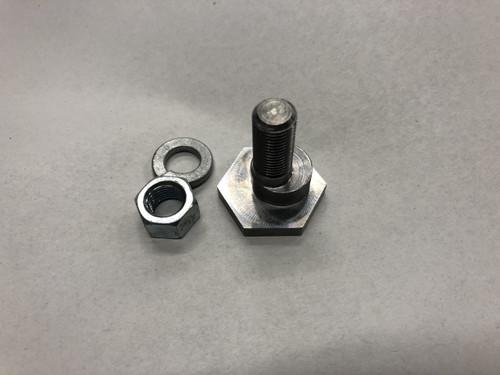 Brake pedal eccentric  cam bolt