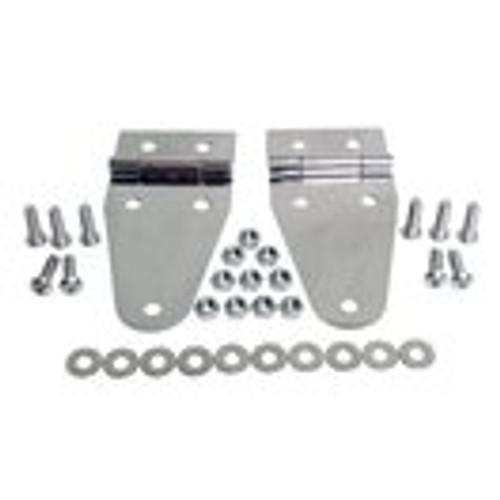 Stainless steel hood hinge kit