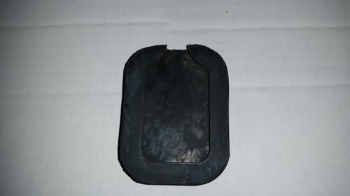 Pedal pad clutch brake