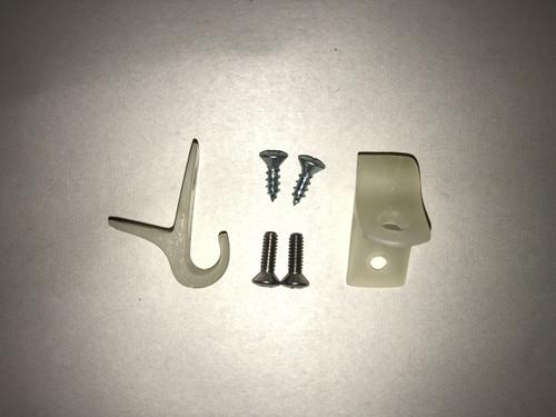 Sun Visor clips with hardware