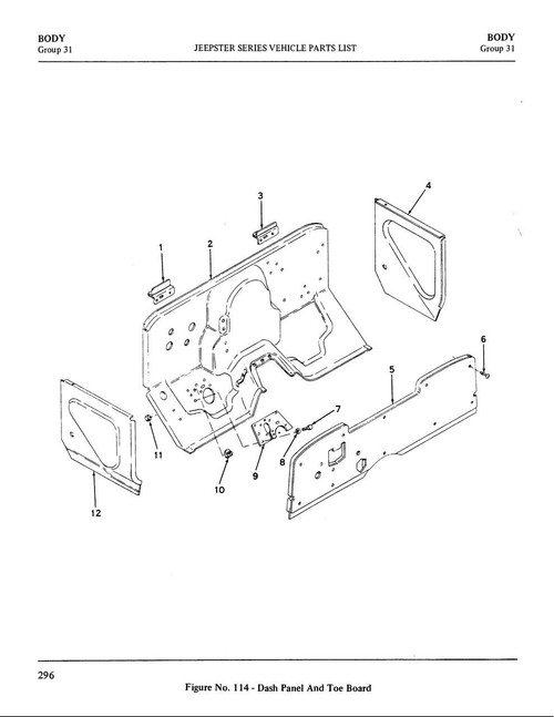 Dash pad (firewall insulation)