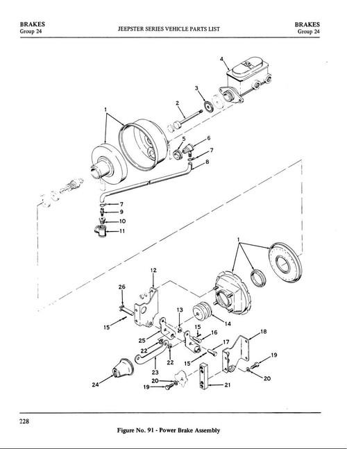 Brake Booster Kit