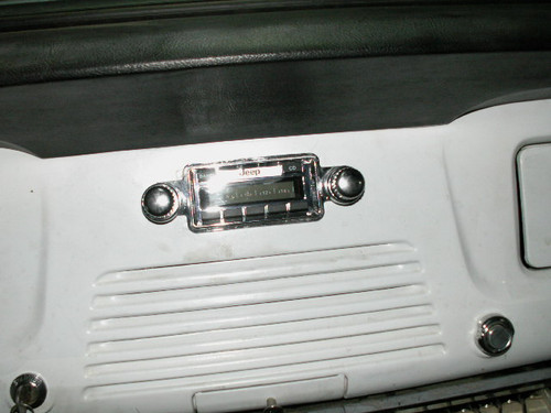 Radio trim face