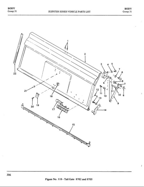 Tailgate lower seal