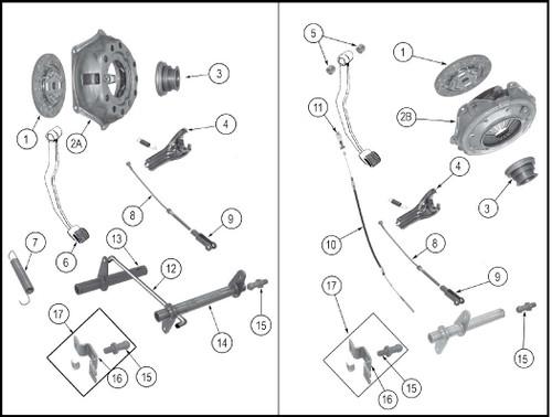 Clutch pressure plate (C101)