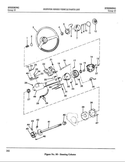 Steering column seal